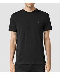 AllSaints | Black Tonic Crew T-shirt for Men | Lyst