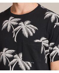 AllSaints | Black Offshore Crew T-shirt for Men | Lyst