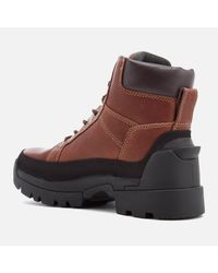 Hunter - Brown Men's Field Lace Up Boots for Men - Lyst