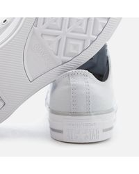 Converse - Metallic Chuck Taylor All Star Ox Trainers - Lyst
