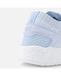 Asics - Blue Lifestyle Women's Gel-kayano Knit Lo Trainers - Lyst