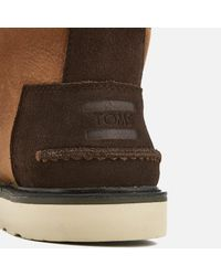 TOMS - Brown Men's Waterproof Leather Chukka Boots for Men - Lyst