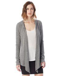 Alternative Apparel | Gray Warm Up Eco-jersey Wrap | Lyst