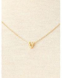 Cloverpost - Metallic Zodiac Chain Necklace: Taurus - Lyst