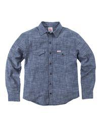Alternative Apparel - Blue Topo Designs Chambray Shirt for Men - Lyst