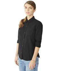 Alternative Apparel - Black Chambray Work Shirt - Lyst
