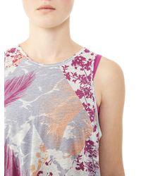 Alternative Apparel | Multicolor Flex It Printed Tank Top | Lyst