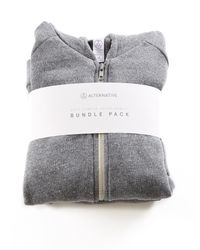 Alternative Apparel | Gray Knockout Suit Hoodie And Pants 2-pk Bundle | Lyst