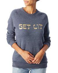 Alternative Apparel - Blue Champ Hanukkah Eco-fleece Sweatshirt for Men - Lyst