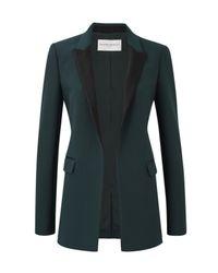 Amanda Wakeley - Black Kashino Raven Tux Jacket - Lyst