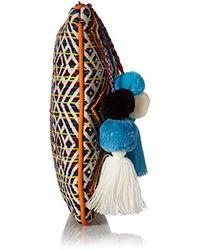 Steve Madden - Blue S Handbags Shaye Beaded Embroidered Clutch Crossbody - Lyst