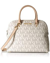 f41f2fbbed420 MICHAEL Michael Kors. Women s Cindy Large Dome Satchel Satchel Vanilla