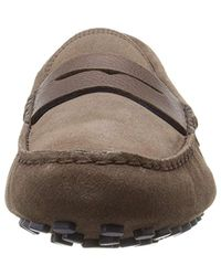 Lacoste Brown Concours 18 Slip-on Loafer for men