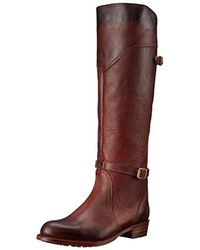Frye - Brown Dorado Lug Riding Boot - Lyst