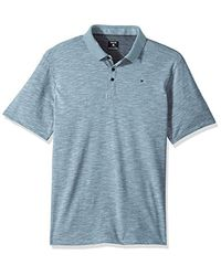 Hurley Blue Nike Dri-fit Short Sleeve Lagos Polo for men