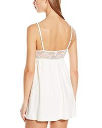 Only Hearts - Natural So Fine With Lace Babydoll - Lyst