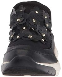 Nine West - Black Novak Snake Fashion Sneaker - Lyst