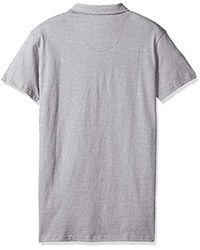 Lee Jeans Gray Fashion Polo for men