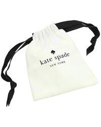 "Kate Spade - Metallic ""pave Drop Earrings"" Shine On Drop Earrings Drop Earrings - Lyst"