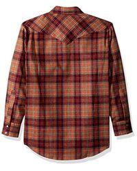 Pendleton - Brown Long Sleeve Canyon Shirt for Men - Lyst