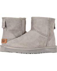 Ugg Gray Classic Mini Ii Winter Boot