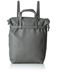 Liebeskind Berlin - Gray Belfast Vintage Leather Convertible Backpack - Lyst