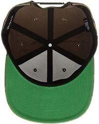 5a497b0eb51 Lyst - Brixton Wheeler Medium Profile Adjustable Snapback Hat in ...