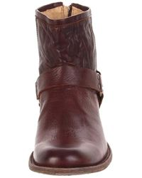 Frye - Brown Phillip Harness Boot for Men - Lyst