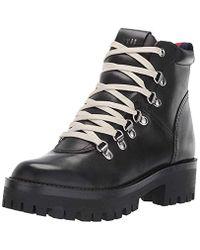 Steve Madden Black Bam Hiking Boot