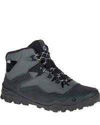 Merrell - Black Overlook 6 Ice Plus Waterproof Snow Boot for Men - Lyst