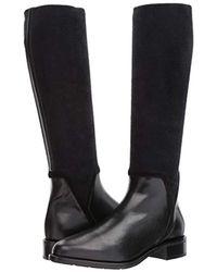 Aquatalia - Black Aquatalia Nicolette Calf/elastic Knee High Boot - Lyst