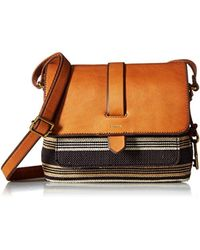 Fossil - Multicolor Kinley Small Crossbody Bag - Lyst