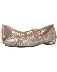 Nina - Brown Wynne Ballet Flat - Lyst