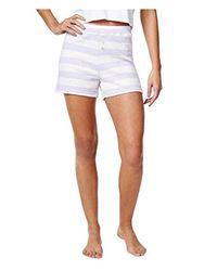 Nautica White Sweater Knit Lounge Short