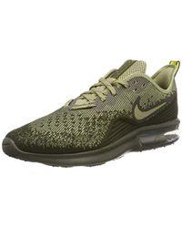 quality design 0c1c7 a8353 Men s Natural Air Max Sequent 4 Fitness Shoes, Multicolour (cargo Khaki  neutral Olive peat Moss ...