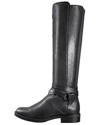 Kenneth Cole Reaction - Black Kent Play Riding Boot - Lyst