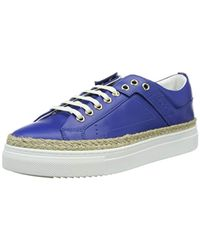 HUGO - Blue Connie-r 10195754 01, 's Low-top Sneakers - Lyst