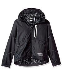 b337ff3aad74 Lyst - adidas Originals Outerwear Big Boys  Kids Nmd Windbreaker ...