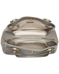 Anne Klein - Gray A Hinge Large 4 Poster - Lyst