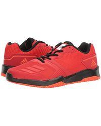 08e49a2b Lyst - adidas Gym Warrior 2 Cross-trainer Shoes, Scarlet/black, (7.5 ...