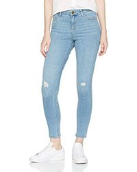 Dorothy Perkins - Blue Authentic Darcy Skinny Jeans - Lyst