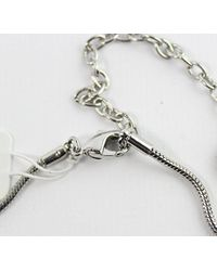 """French Connection - Metallic Double Open Cube On Snake Chain Pendant Necklace, 16"""" + 3'' Extender - Lyst"""