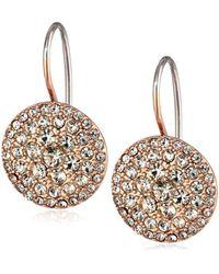 Fossil - Metallic S Vintage Glitz Earrings - Lyst