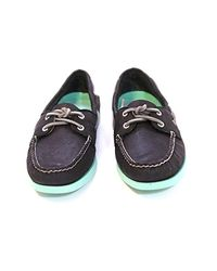 Sperry Top-Sider - Black Authentic Original Two-eye Boat Shoe - Lyst