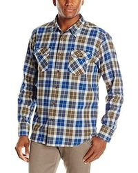 Quiksilver - Blue Waterman Wade Creek Woven Top 2 for Men - Lyst