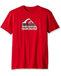 Quiksilver - Red Waves Ahead Tank for Men - Lyst