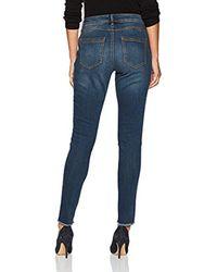 Bandolino - Blue Lisbeth Curvy Skinny 5 Pocket Jean - Lyst