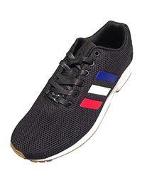 Adidas Originals - Blue Zx Flux Fashion Sneaker for Men - Lyst