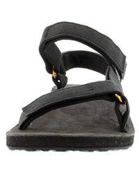 Teva Black Original Universal Lux Sandal for men