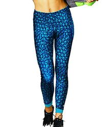 0aa6fe707d65 Lyst - Champion 6.2 Performance Workout Legging in Blue